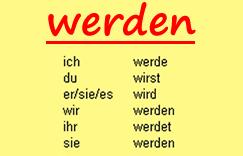 Глагол werden