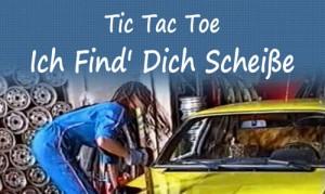 Tic Tac Toe. Ich Find