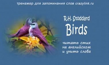 R.H. Stoddard - Birds
