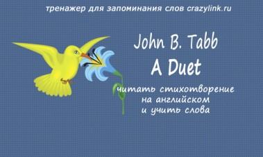 John B. Tabb - A Duet