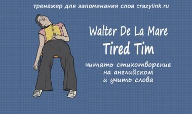 Tired Tim