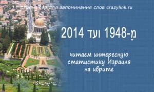 מֵ-1948 ועד 2014